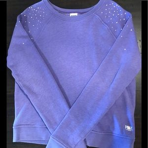 💜Victoria Secret Small Sweatshirt w/rhinestones💜